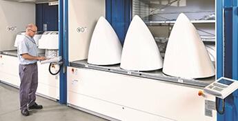 Armários automáticos ao serviço da indústria aeronáutica