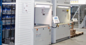 Armazens automaticos instalados na LEMA