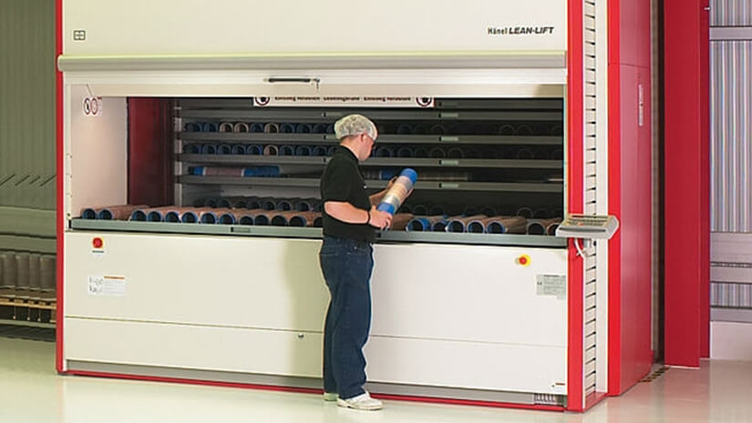 PLÁSTICOS ROMERO com armários automáticos ver