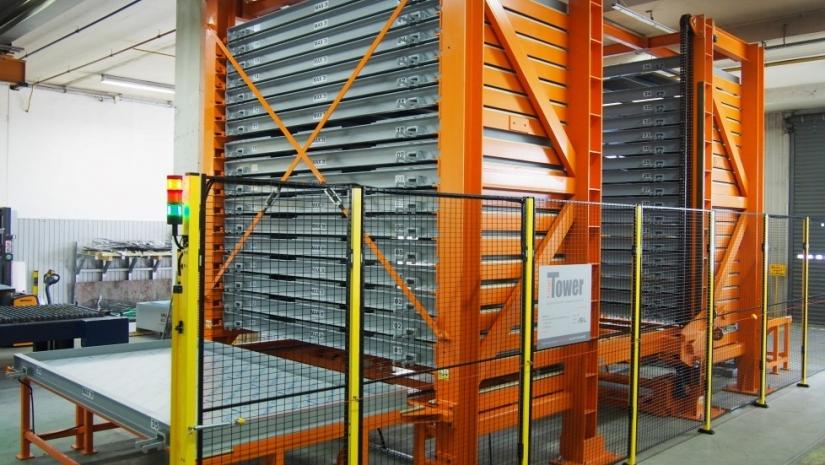 almacén automático para planchas